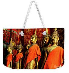 Buddha Laos 2 Weekender Tote Bag by Bob Christopher