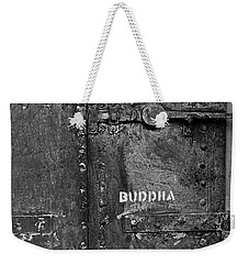 Weekender Tote Bag featuring the photograph Buddha by Laurie Stewart