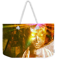 Buddha Light Weekender Tote Bag