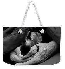 Buddha's Nature Weekender Tote Bag