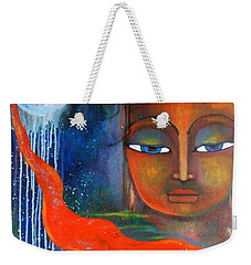 Buddhas Robe Reaching For The Moon Weekender Tote Bag