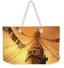 Buddhist Stupa- Nepal Weekender Tote Bag