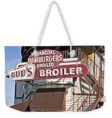 Bud's Broiler New Orleans Weekender Tote Bag