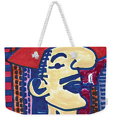 Weekender Tote Bag featuring the mixed media Buenos Aires Casanova by Don Koester