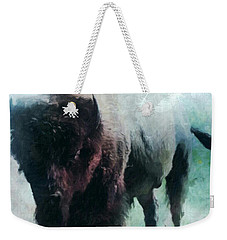 Buffalo American Bison Weekender Tote Bag