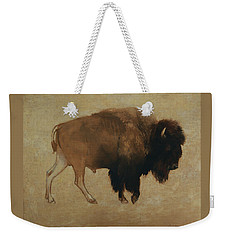 Buffalo Weekender Tote Bag