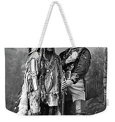 Buffalo Bill Cody And Chief Sitting Bull C. 1890 Weekender Tote Bag