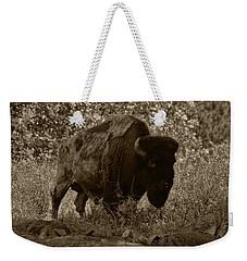 Buffalo Junction Weekender Tote Bag