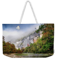 Buffalo River Autumn Weekender Tote Bag by James Barber