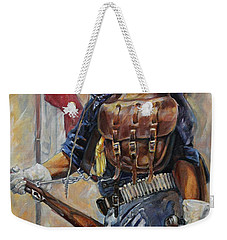 Buffalo Soldier Outfitted Weekender Tote Bag