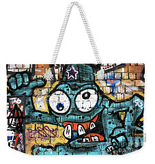 Bug-eyed In Berlin Weekender Tote Bag