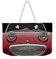 Bug-eyed Sprite Weekender Tote Bag by Douglas Pittman