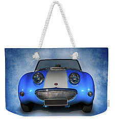 Bug Eyes Weekender Tote Bag by Keith Hawley