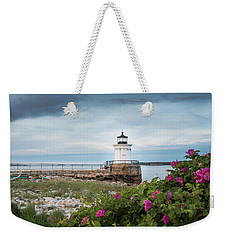 Bug Light Blooms Weekender Tote Bag