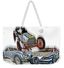 Bugatti Evolution Weekender Tote Bag