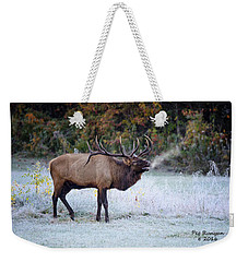 Bugle Of The Elk Weekender Tote Bag
