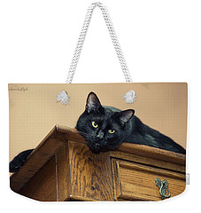 Bugzy Watching From On High Weekender Tote Bag
