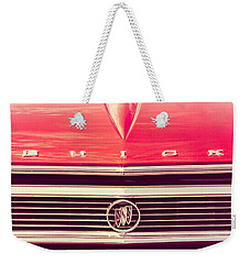 Buick Retro Weekender Tote Bag by Caitlyn Grasso