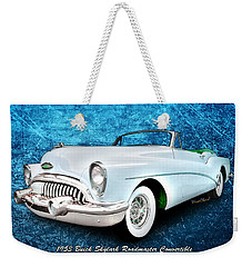 Buick Skylark Roadmaster Convertible For 1953 Weekender Tote Bag