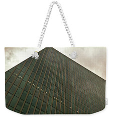 Weekender Tote Bag featuring the photograph Building 4 by Anne Kotan