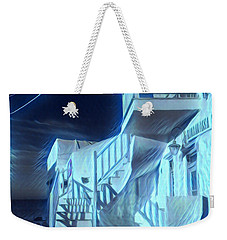 Building At Harbour  Weekender Tote Bag by Colette V Hera Guggenheim