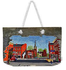Building Mural - Cuba New York 001 Weekender Tote Bag