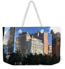 Building Reflections Weekender Tote Bag