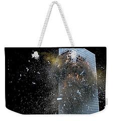 Building_explosion Weekender Tote Bag by Marcia Kelly