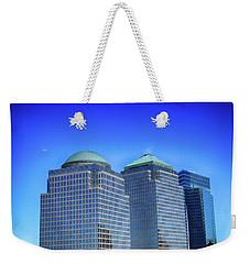 Buildings 2,3,4 In New York's Financial District Weekender Tote Bag