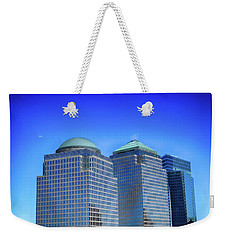 Buildings 2,3,4 In New York's Financial District Weekender Tote Bag