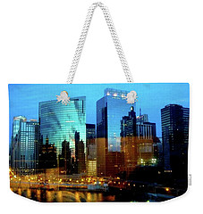 Reflections On The Canal Weekender Tote Bag