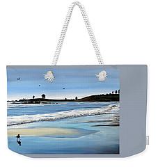 Bull Beach 2 Weekender Tote Bag