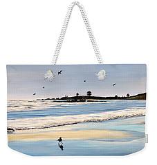 Bull Beach Weekender Tote Bag