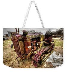 Bull Dozer Weekender Tote Bag
