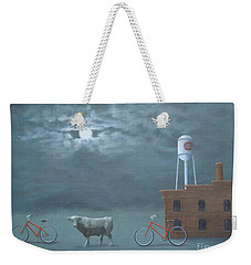 Bull Moon Ride Weekender Tote Bag