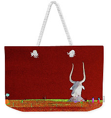 Bull Of It Weekender Tote Bag