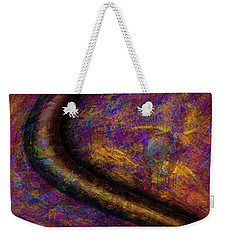 Weekender Tote Bag featuring the photograph Bull Rust by Paul Wear