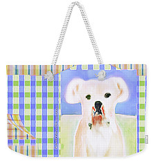 Bulldog Rana Art 40 Weekender Tote Bag