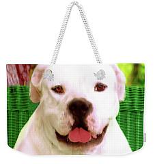 Bulldog Rana Portrait 5 Weekender Tote Bag
