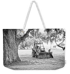 Bulldozer Weekender Tote Bag by Scott Hansen