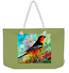Bullock's Oriole Mountain Birds Weekender Tote Bag
