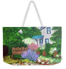Bully Hill Vineyard Weekender Tote Bag
