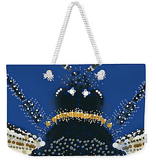 Bumble Bee Detail Weekender Tote Bag