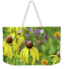 Bumble Bee Heaven Weekender Tote Bag