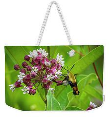 Bumblebee Moth 153 Weekender Tote Bag