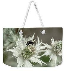 Bumblebee On Thistle Flower Weekender Tote Bag