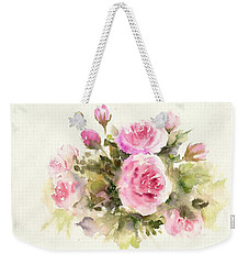 Bunch Of Roses Weekender Tote Bag