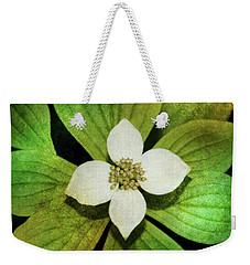 Bunchberry Flower Weekender Tote Bag