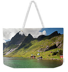 Bunesfjord And Mountains Weekender Tote Bag