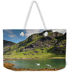 Bunesfjord With Boats Weekender Tote Bag